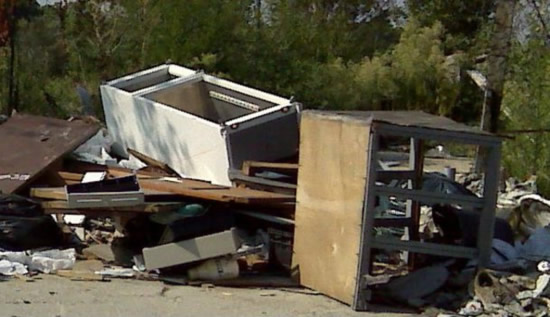 Ritiro straordinario rifiuti ingombranti