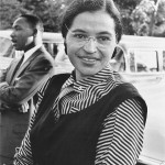 Rosa Parks con Martin Luther King