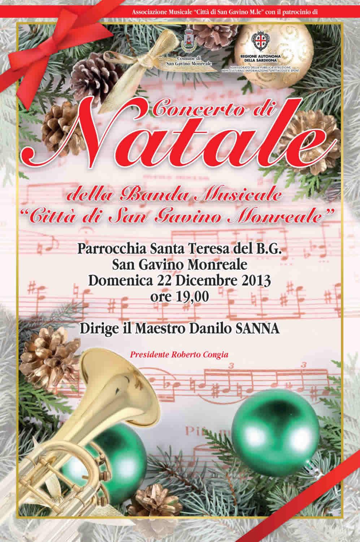 Concerto di Natale 2013 della Banda