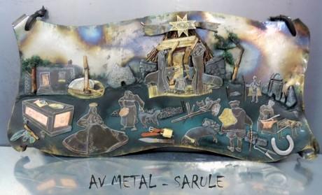 Il presepe di Alessio e Antonello Vilia (AV Metal)