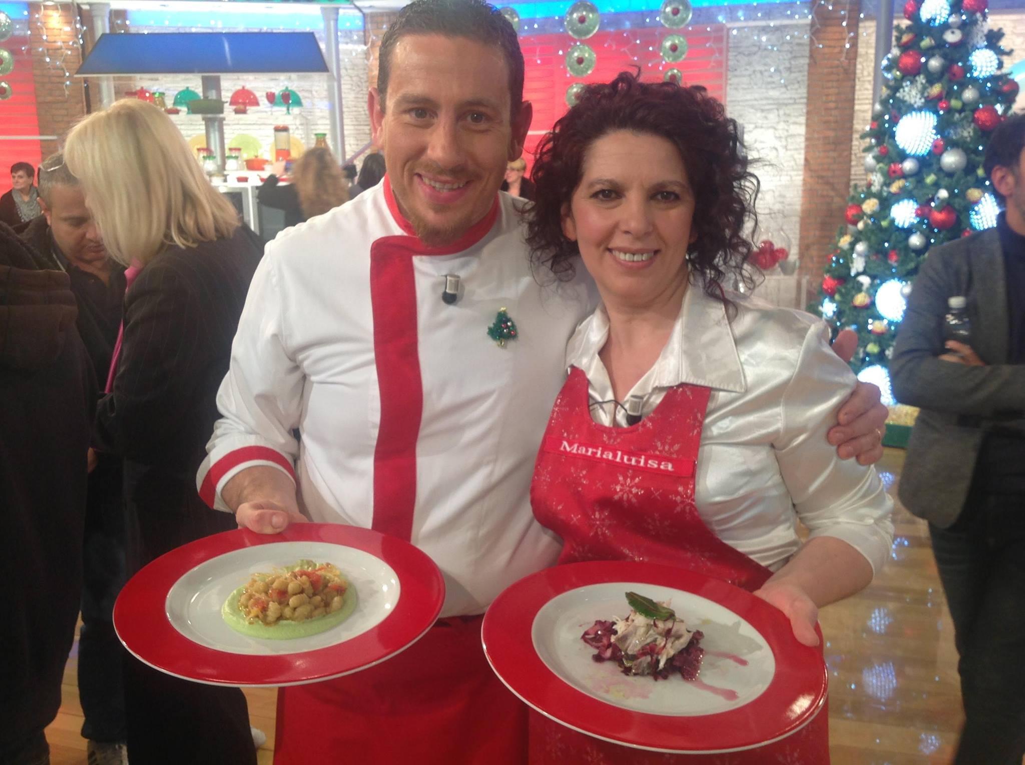 "Maria Luisa sbanca ""La prova del cuoco"""
