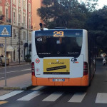Campagna pubblicitaria sui bus CTM a Cagliari