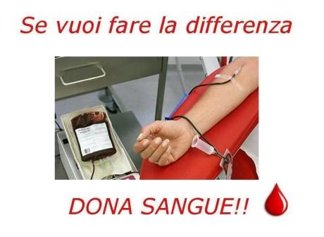 Se vuoi fare la differenza, dona il sangue!