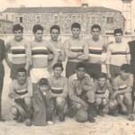 Squadra di calcio al Santa Lucia