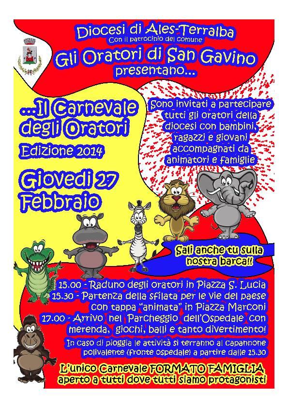 Carnevale Diocesano degli oratori
