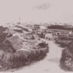 Primi del 900 - Panorama di san Gavino fotografato dalla chiesa di San Gavino