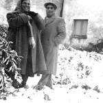 Neve a San Gavino, 3 febbraio 1956