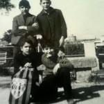 Marco Bandino con Bruno Atzeni, Ottavio Lixi e Vittorio Marongiu
