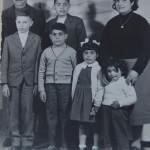La famiglia Pani 1958 - Mario Pani, genitore di Marinello e tutta la famiglia.
