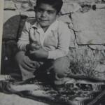 Marinello Pani a 5 anni - Figlio di Mario Pani