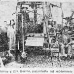 Il pozzo artesiano a San Gavino, individuato dal rabdomante P. Innocenzo