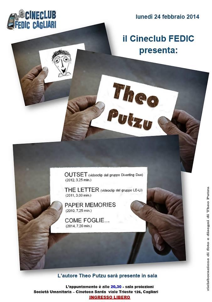Cineclub FEDIC- Cagliari: Theo Putzu
