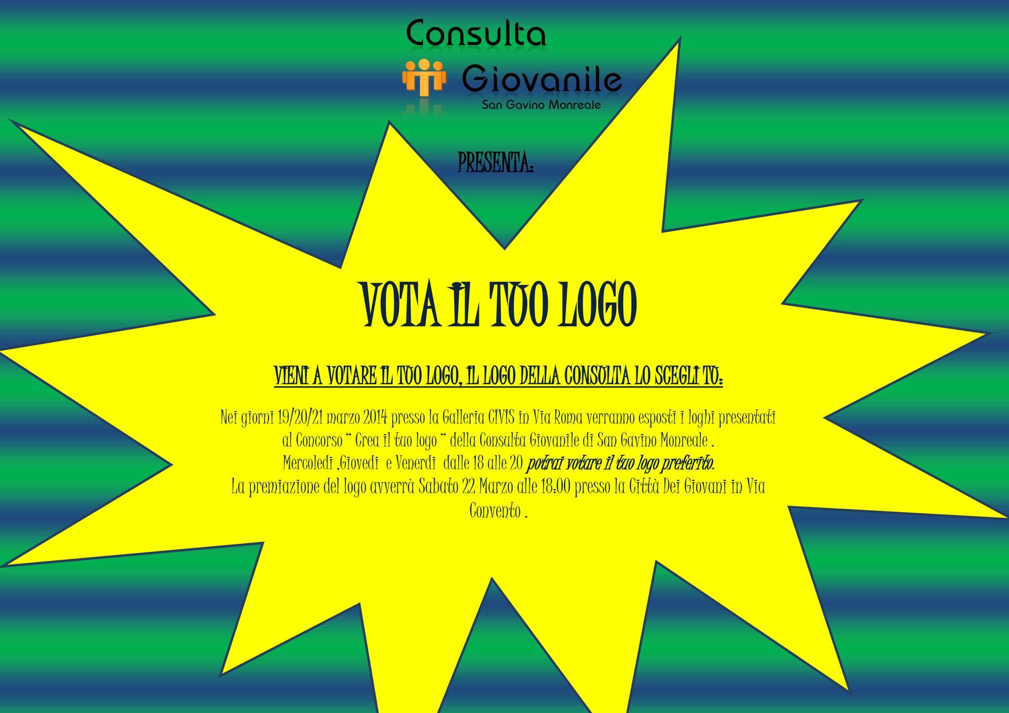 Votazione del Logo della Consulta Giovanile
