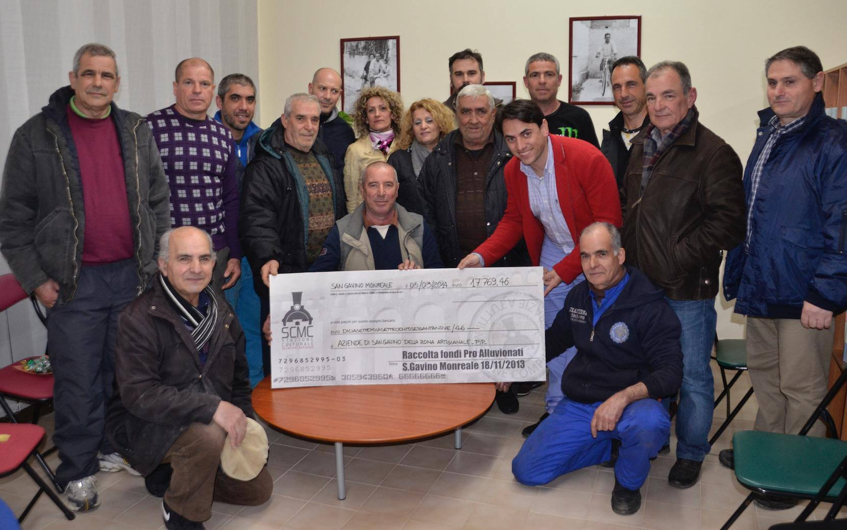 18mila euro per gli alluvionati