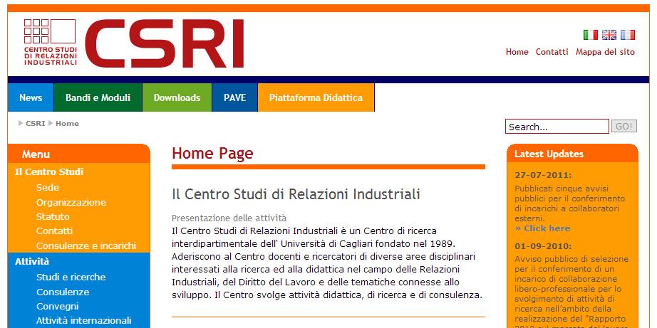 Master in Relazioni Industriali