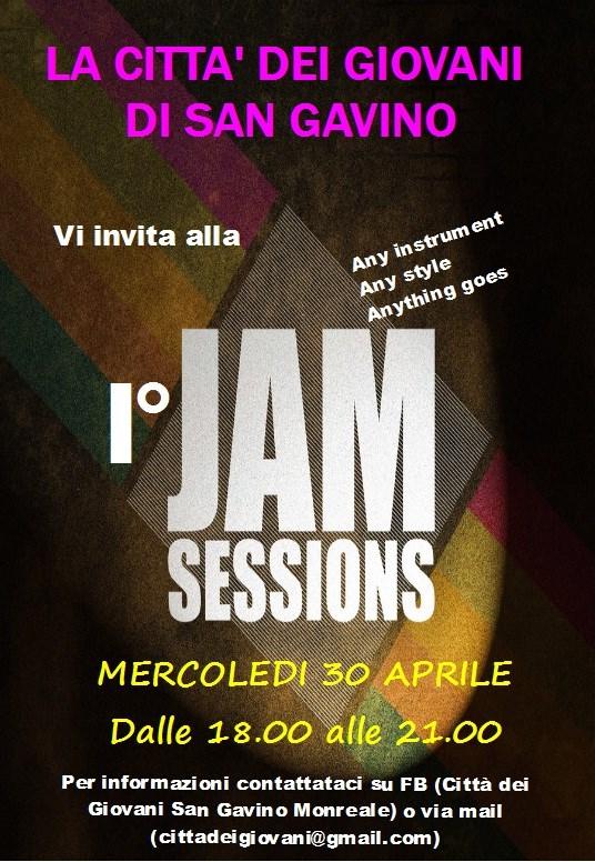1° Jam Sessions della Città dei Giovani