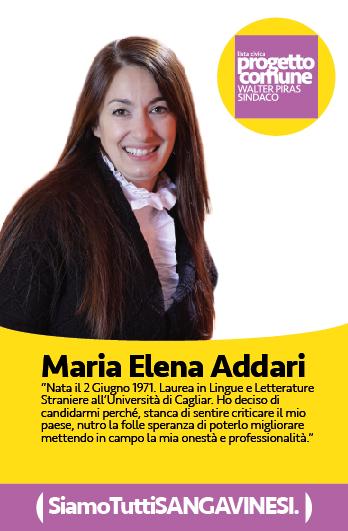 Maria Elena Addari