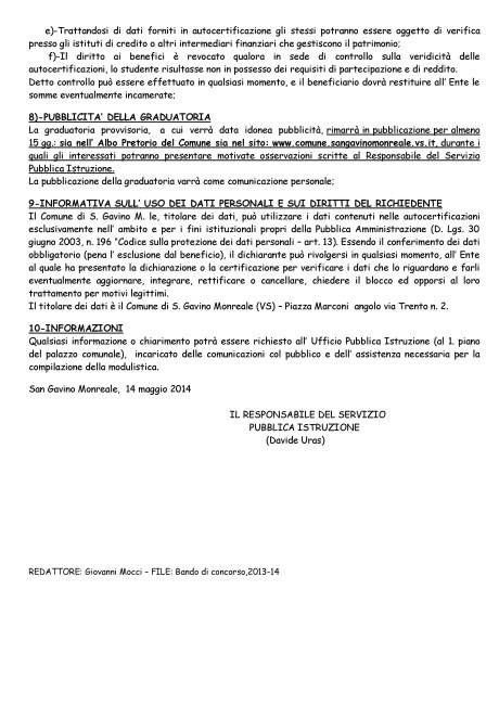Bando di Concorso,2013-14_Pagina_5