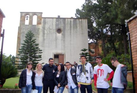 Alcuni volontari per Monumenti Aperti