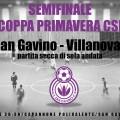 Il San Gavino vola in finale di Coppa Primavera