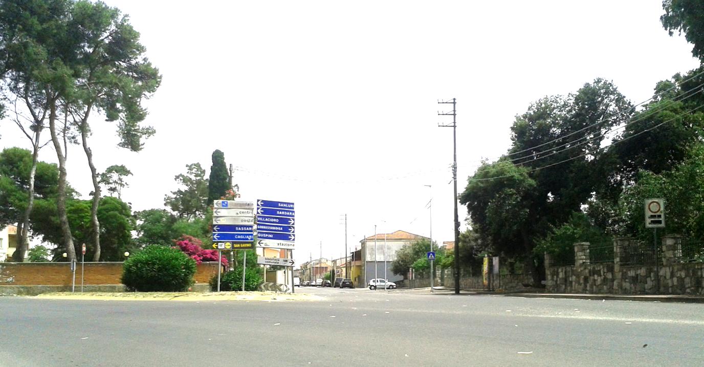 Via Dante e Parco Rolandi