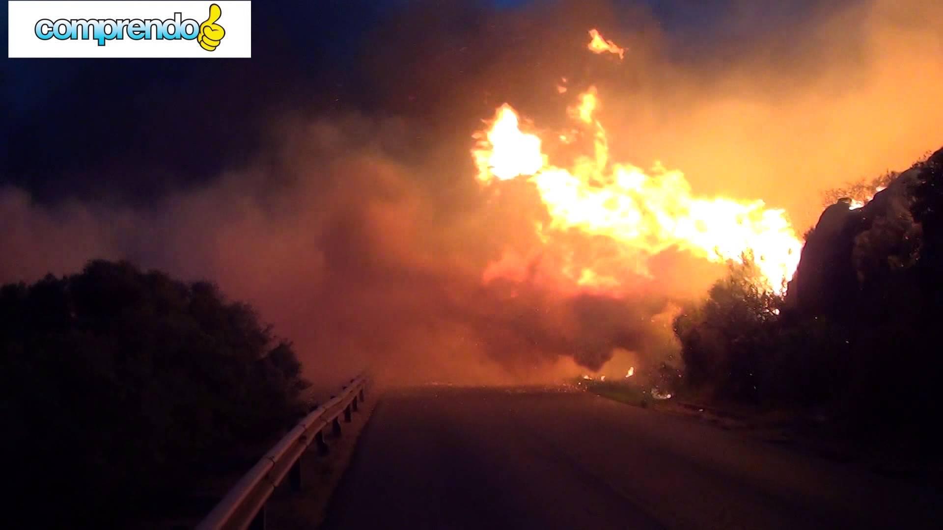 Incendio nel Medio Campidano, forse l'abbiamo sognato?