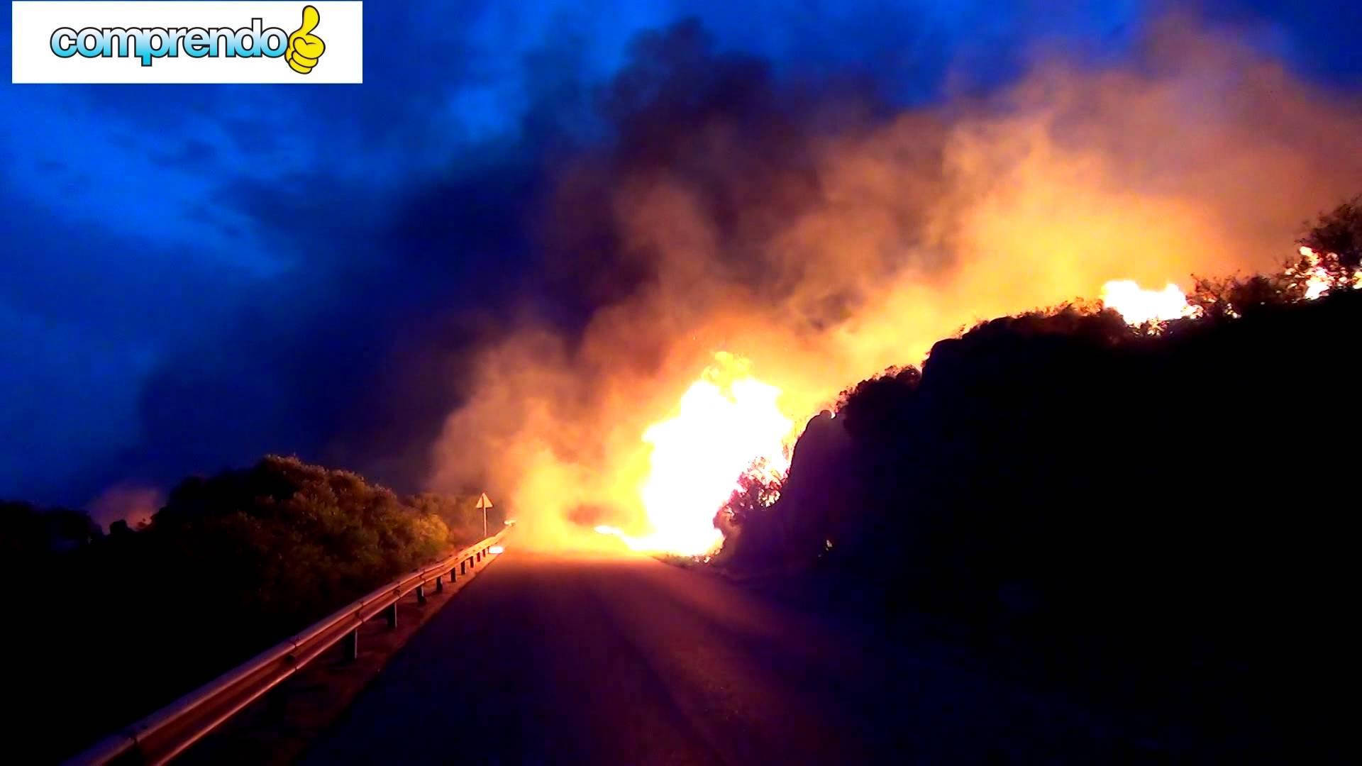 Incendi nel Medio Campidano, niente polemiche, ma tante domande