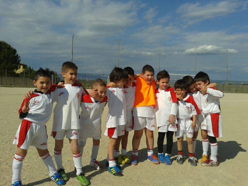 I giovani calciatori della Monreale