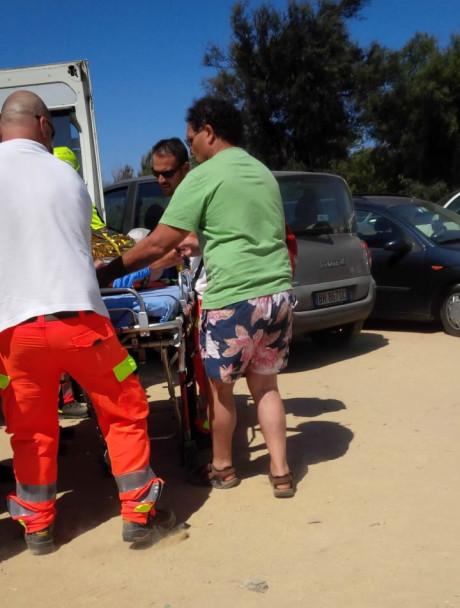 Carlo Tomasi partecipa ai soccorsi