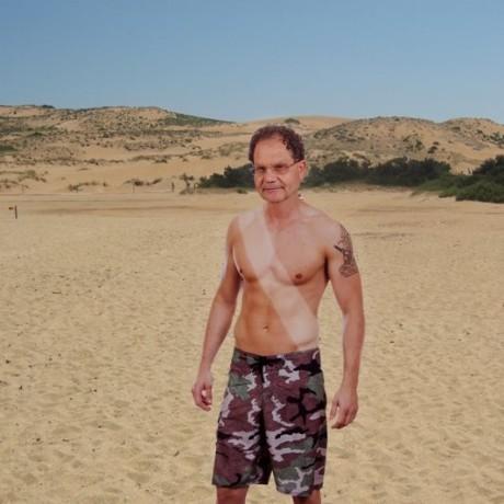 Un primo cittadino... da spiaggia!