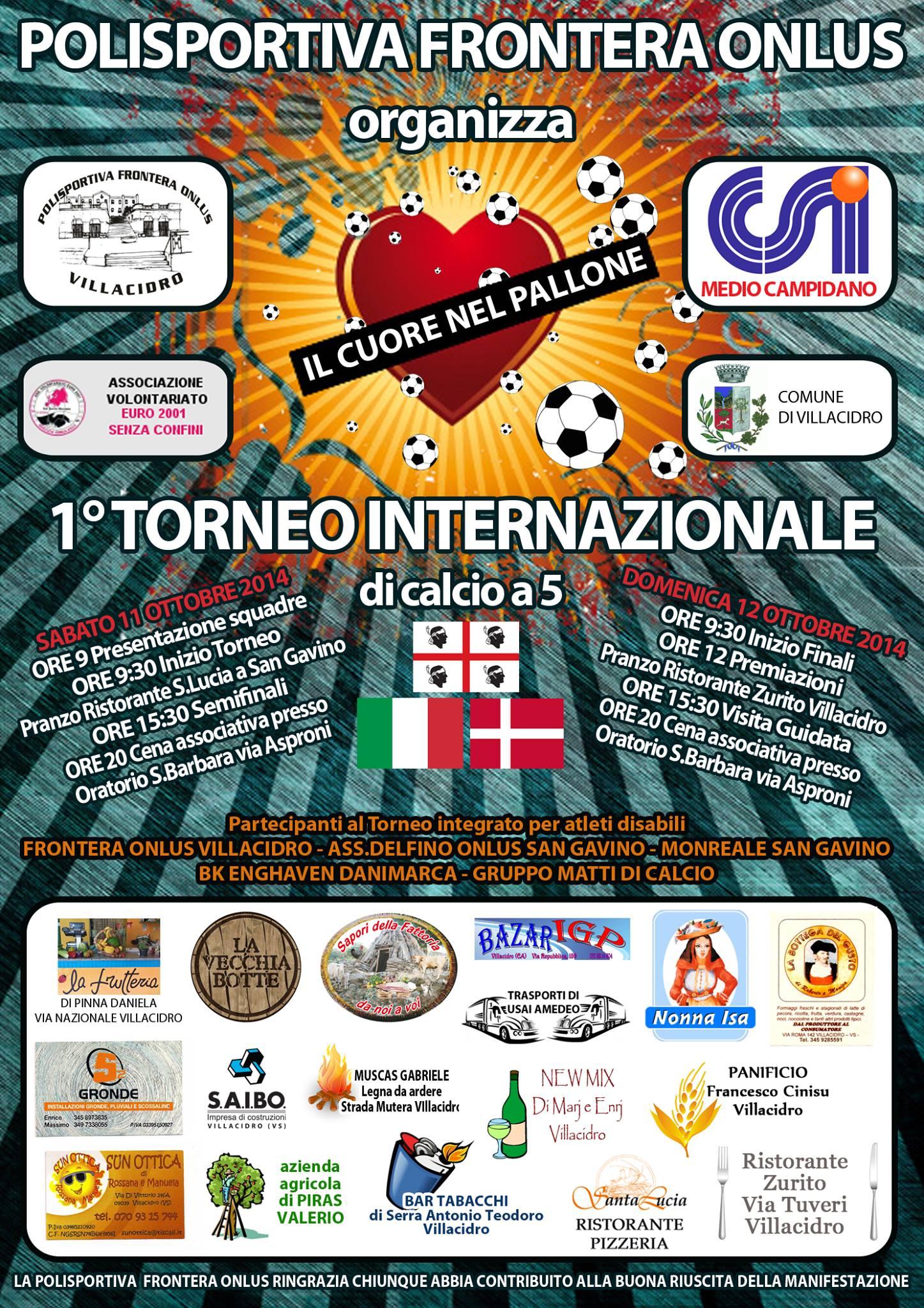 1° Torneo Internazionale di calcio a 5