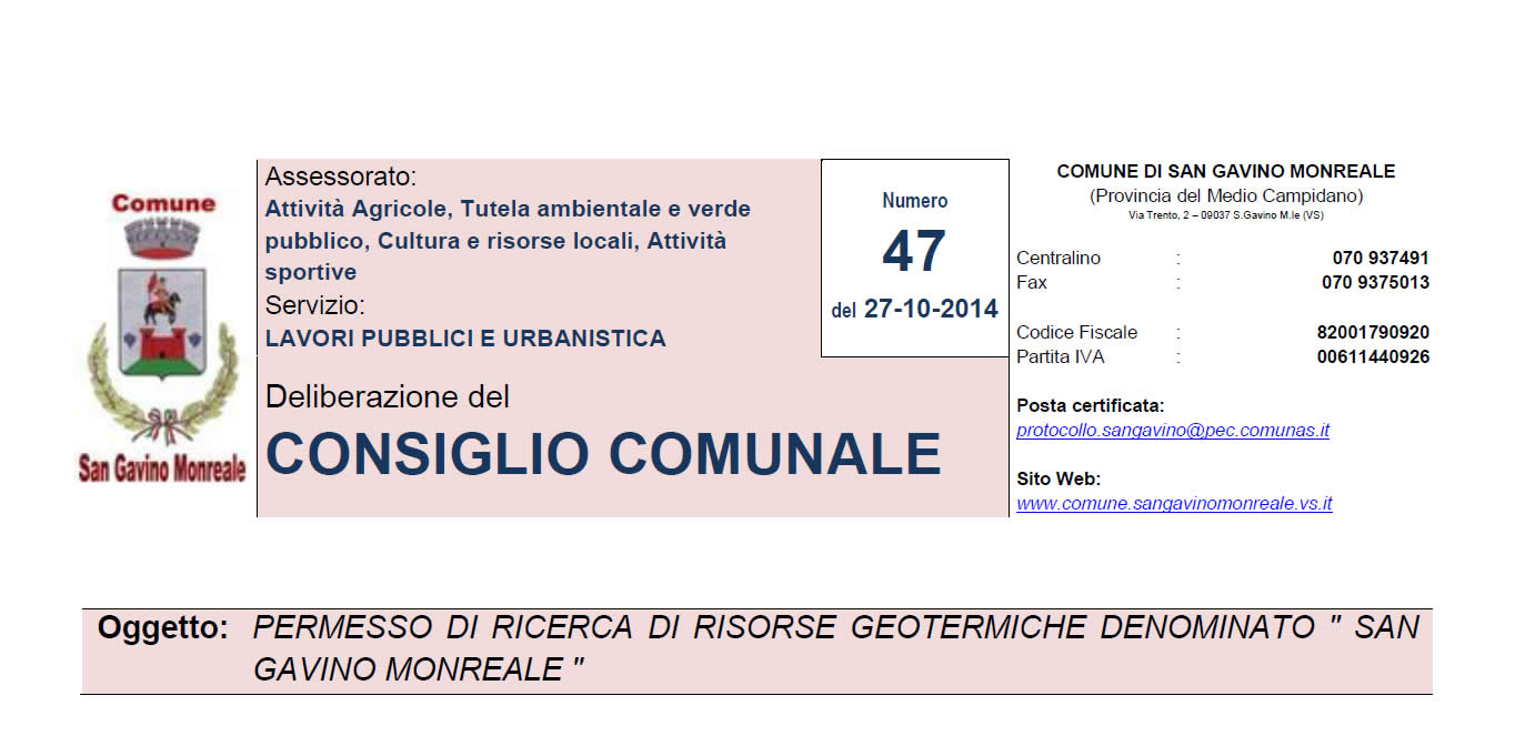 San Gavino Monreale dice NO alle trivelle