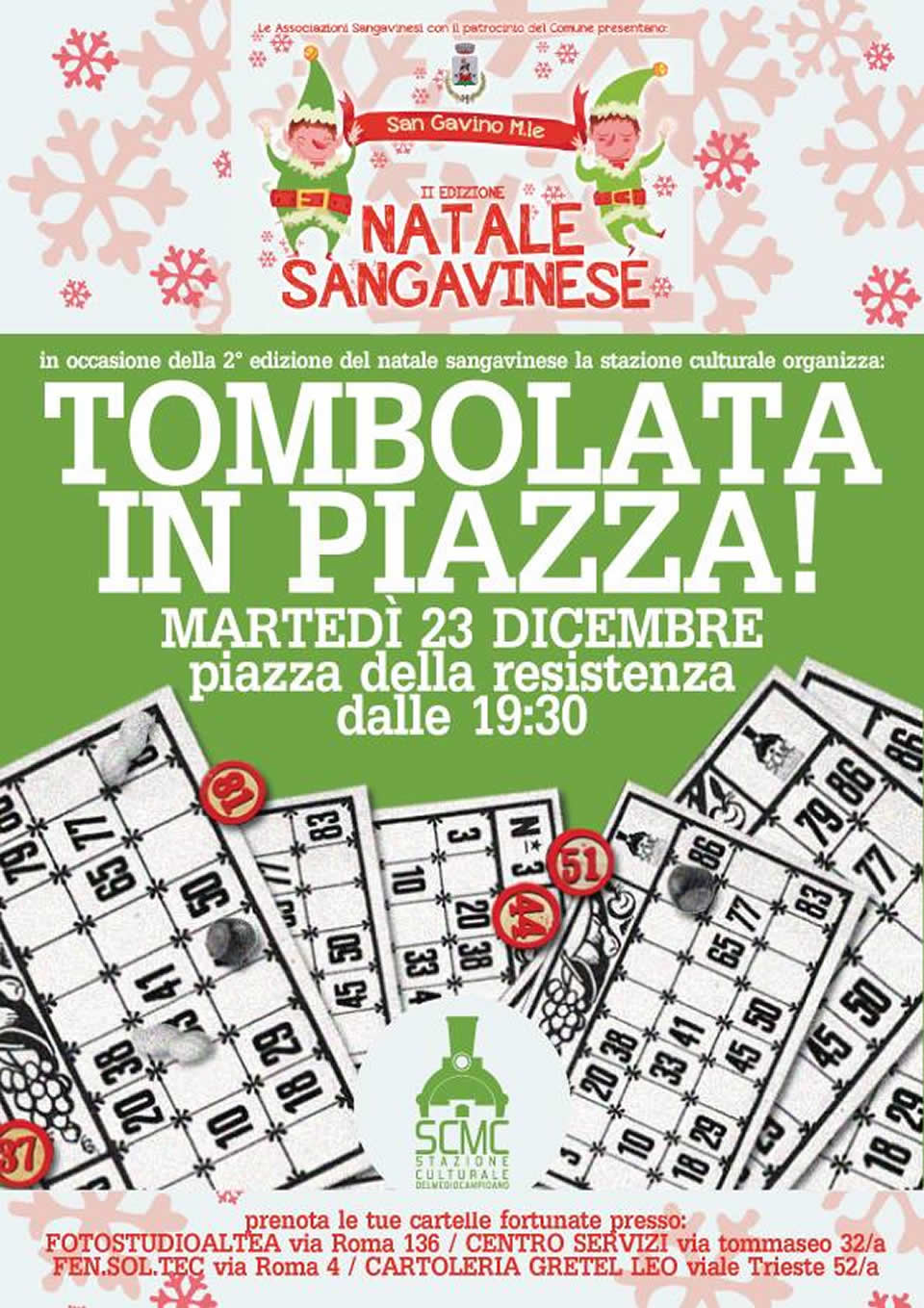 Tombolata in piazza