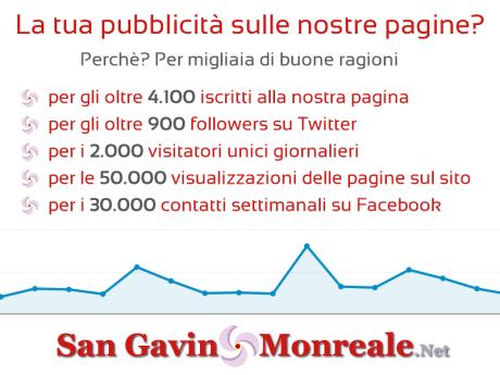 La tua pubblicità su San Gavino Monreale . Net