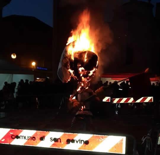 XXXI Carnevale Sangavinese: le foto del martedì grasso