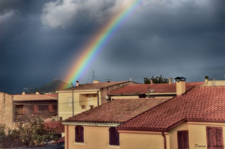 Arcobaleno a San Gavino