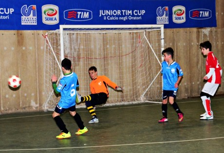 La Junior TIM Cup a San Gavino