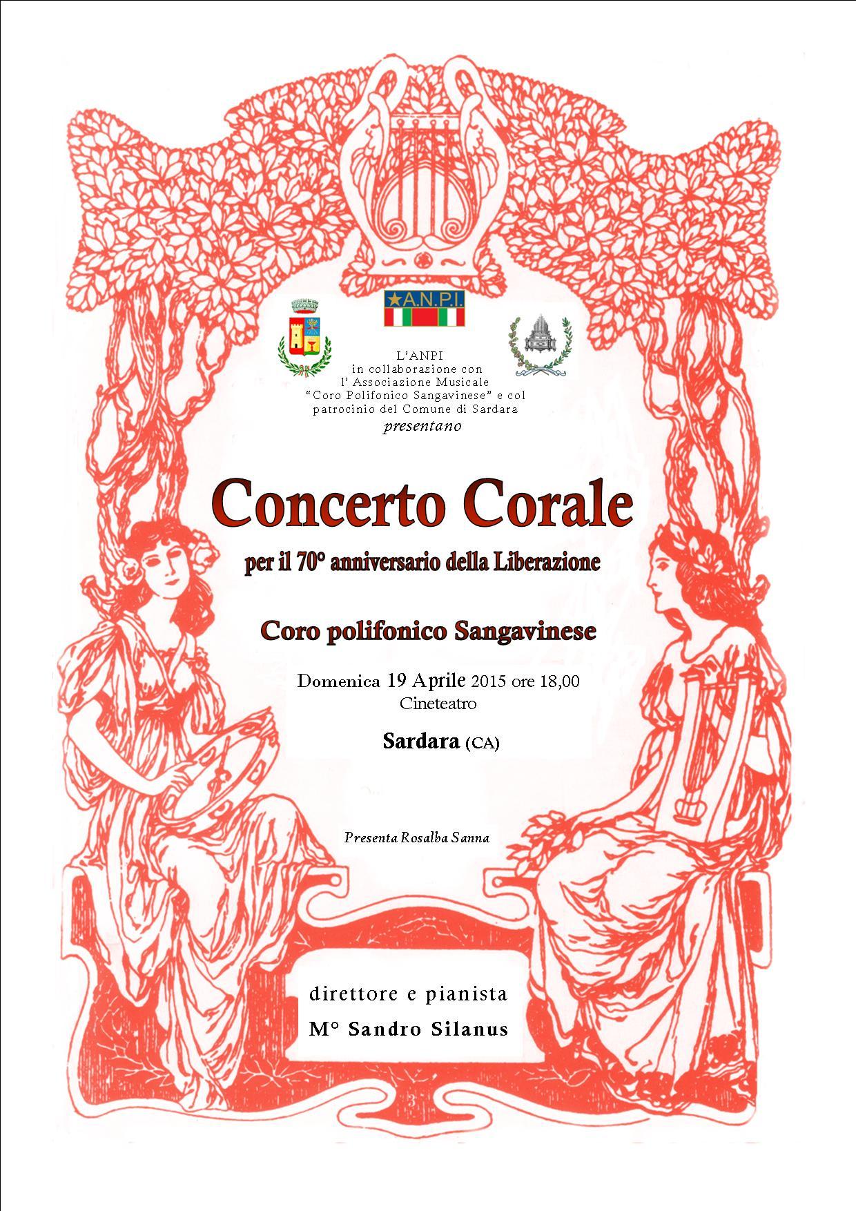 Concerto corale per il 70° anniversario della Liberazione