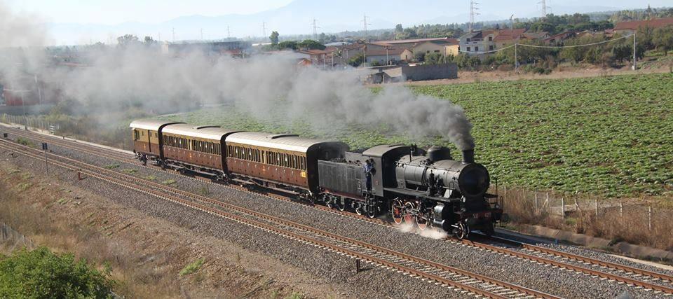 Visita al Treno Storico a Vapore