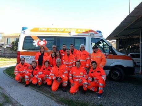 Una nuova ambulanza per Euro2001