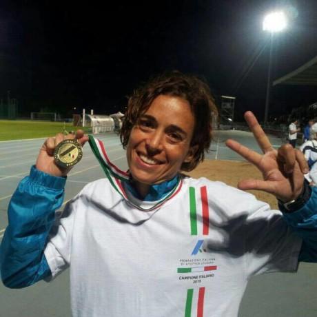 Claudia Pinna campionessa italiana dei 10.000 metri