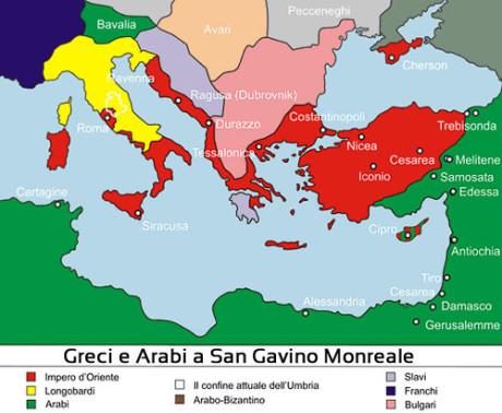 Greci e Arabi a San Gavino Monreale