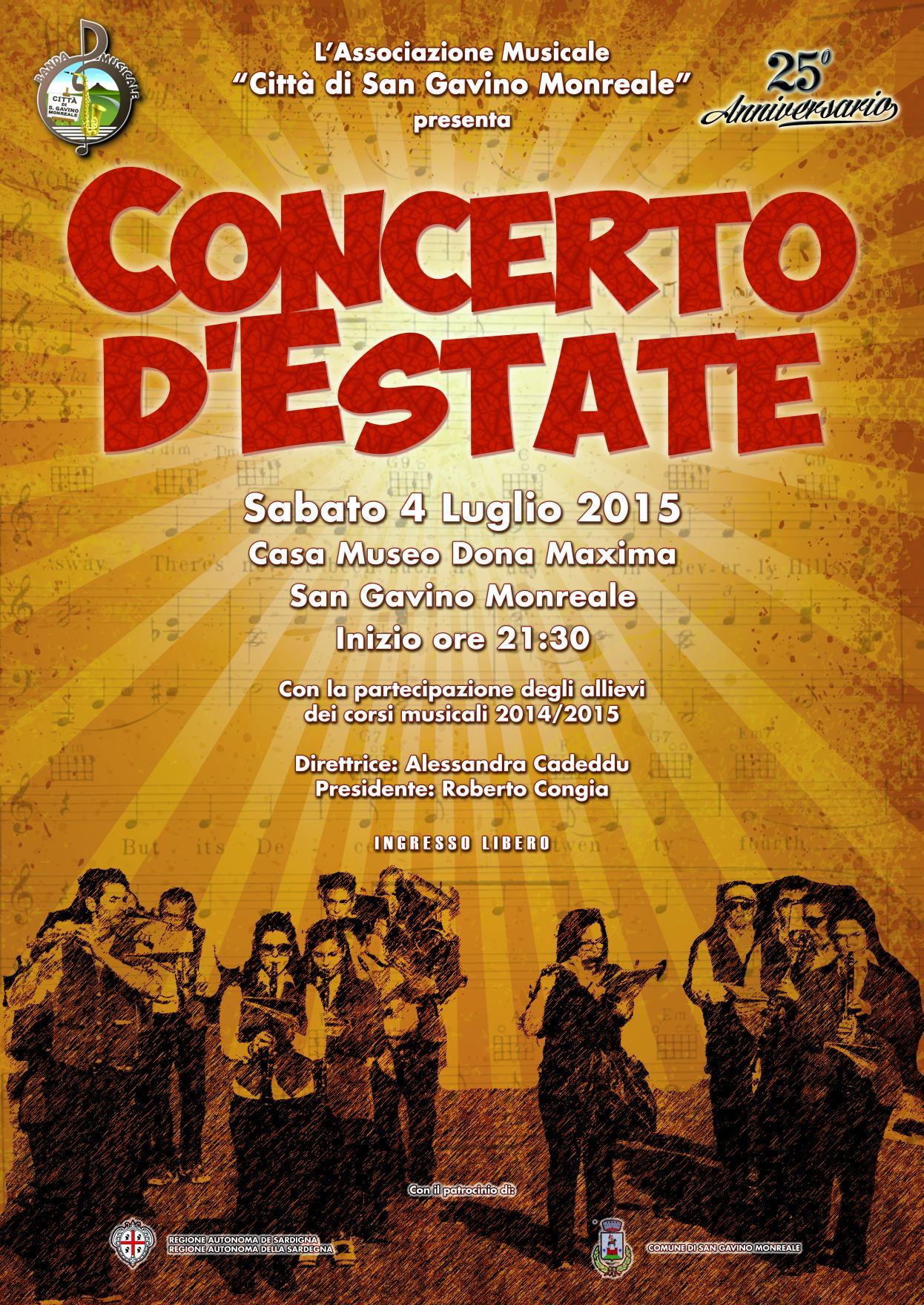 Concerto d'Estate 2015