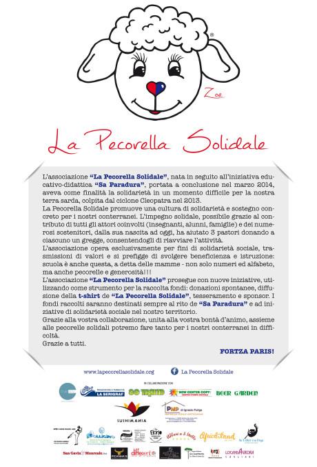 Manifesto Sponsor Pecorella Solidale