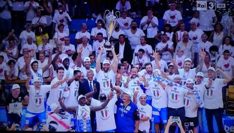 Dinamo Sassari Campione d'Italia!