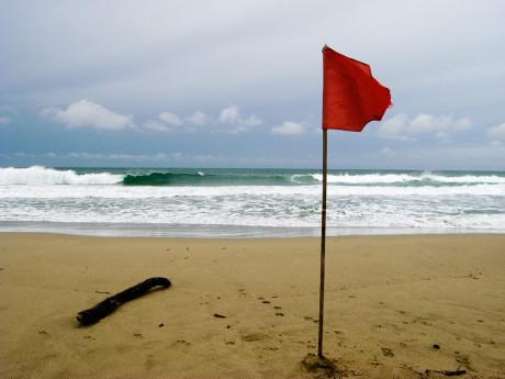 Rispettiamo le bandiere di segnalazione!