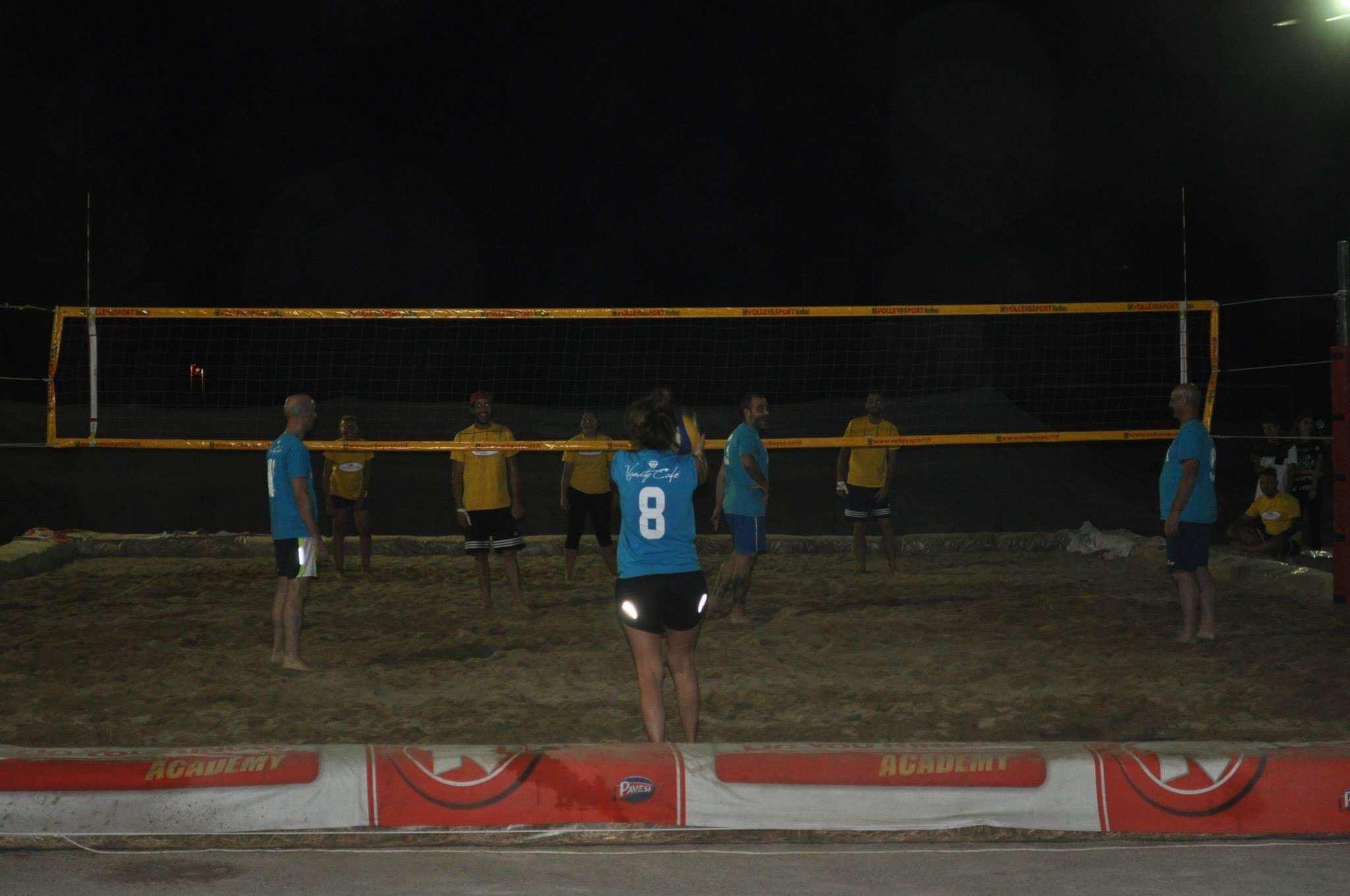 Inizia la fase finale del Torneo di Beach Volley