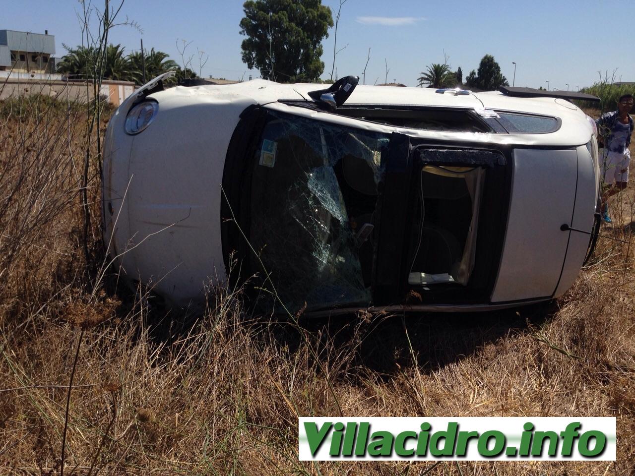 Incidente nell'incrocio tra San Gavino e Villacidro