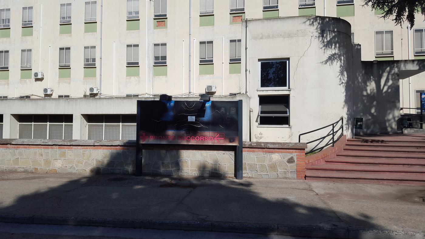 Come si presenta l'Ospedale di San Gavino?