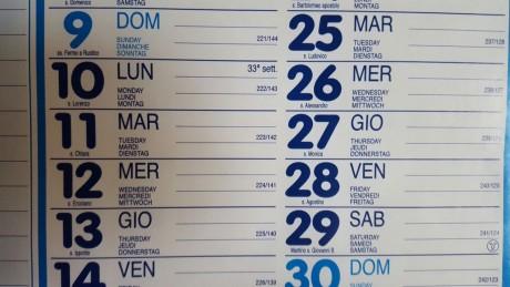 Perché a San Gavino Santa Chiara si festeggia il 12?